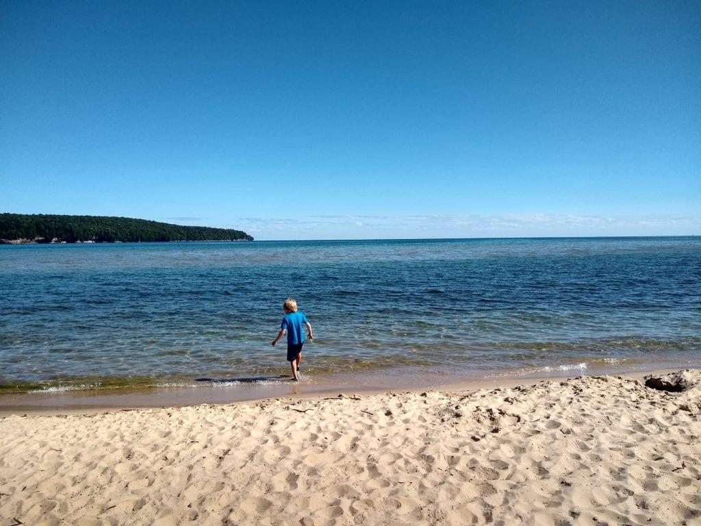 Lake Superior at Sand Point Beach